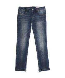 Diesel Kids   Embellished Stretch Jeans