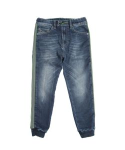 Diesel Kids   Cotton Joggjeans With Side Bands