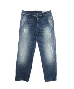 Diesel Kids   Washed Painted Stretch Jeans