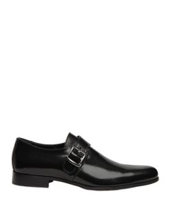 Dino Draghi | Brushed Leather Monk Strap Shoes