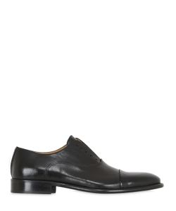 Dino Draghi | Leather Oxford Laceless Shoes