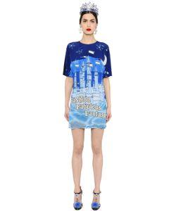 Dolce & Gabbana | Fantasy Print Silk Crepe De Chine Dress