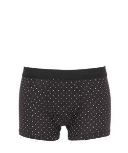 Dolce & Gabbana | Polka Dots Cotton Jersey Boxer Briefs