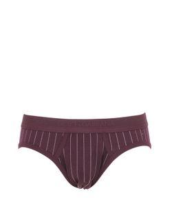 Dolce & Gabbana | Pinstriped Cotton Jersey Briefs