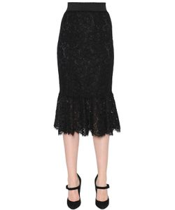 Dolce & Gabbana | Cordonetto Lace Pencil Skirt