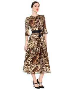 Dolce & Gabbana | Leopard Printed Wool Dress