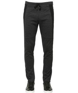 Dolce & Gabbana | Side Band Stretch Viscose Jersey Pants
