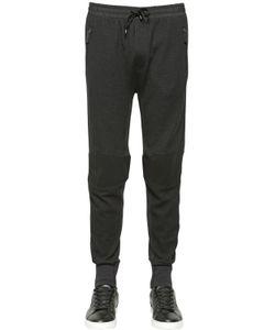 Dolce & Gabbana | Stretch Wool Blend Biker Jogging Pants