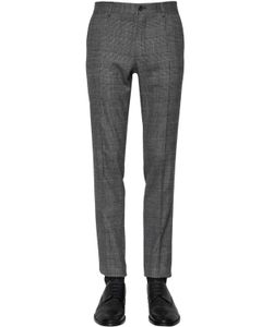 Dolce & Gabbana | 16.5cm Stretch Wool Prince Of Wales Pant