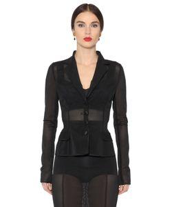Dolce & Gabbana | Sheer Stretch Mesh Jacket