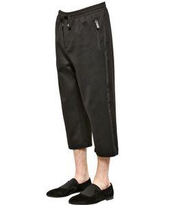 Dolce & Gabbana | Tuxedo Style Cotton Jogging Pants