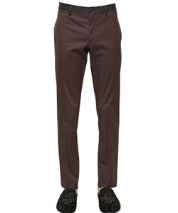 Dolce & Gabbana | Cotton Gabardine Pants