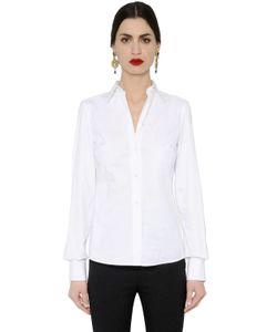 Dolce & Gabbana | Stretch Cotton Poplin Shirt