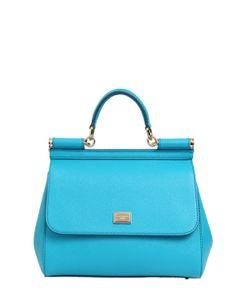Dolce & Gabbana | Medium Sicily Dauphine Leather Bag