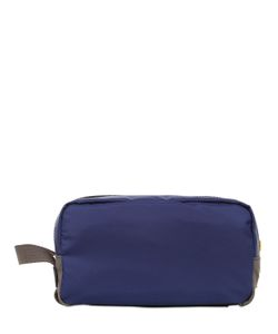 Dolce & Gabbana | Nylon Dauphine Leather Toiletry Bag