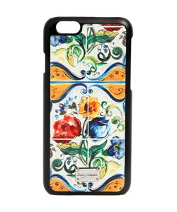 Dolce & Gabbana | Maiolica Printed Iphone 6 Case