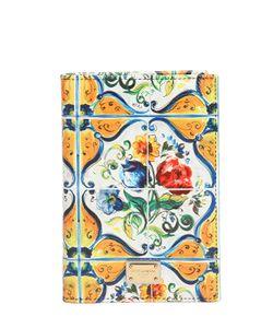 Dolce & Gabbana | Maiolica Printed Passport Holder