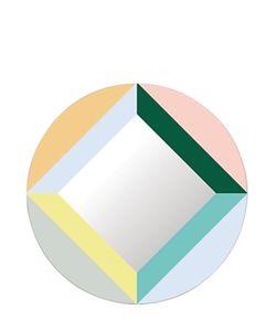 DOMESTIC   Round Square Mirror