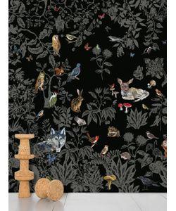 DOMESTIC   Fôrest Noire Printed Wallpaper