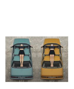 DOUBLEVIEW | Cross Car Poster