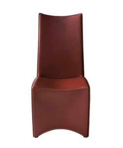 DRIADE | Ed Archer Leather Chair With Steel Leg