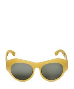 DRIES VAN NOTEN BY LINDA FARROW GALLERY | Geometric Acetate Sunglasses