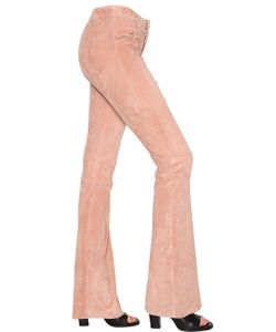 Drome | Flared Stretch Suede Pants