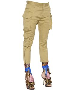 Dsquared2 | Stretch Cotton Twill Cargo Pants