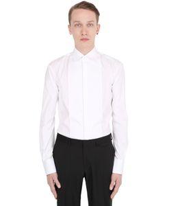 Dsquared2 | Plastron Stretch Cotton Poplin Shirt