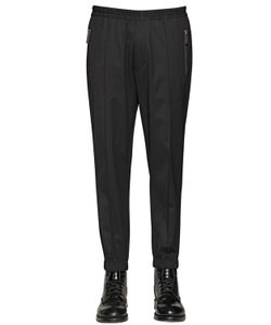 Dsquared2 | Stretch Wool Gabardine Jogging Pants