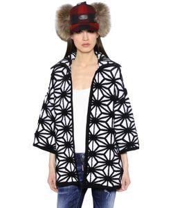 Dsquared2 | Geometric Wool Blend Jacquard Sweater