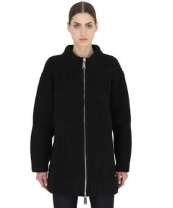 Dsquared2 | Zip-Up Wool Knit Cardigan