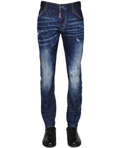 Dsquared2 | 16.5cm M.Buble Faded Stretch Denim Jeans