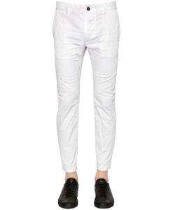Dsquared2 | 15.5cm Twiggy Stretch Cotton Twill Pants