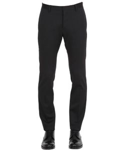Dsquared2 | 15cm Skinny Stretch Wool Cady Pants