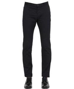 Dsquared2 | 15cm Skinny Stretch Cotton Twill Pants