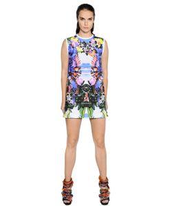 Dsquared2 | Exotic Print Stretch Cotton Poplin Dress