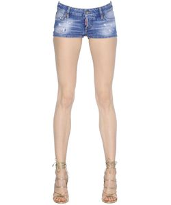 Dsquared2 | California Washed Stretch Denim Shorts