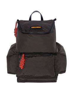 Dsquared2   Nylon Backpack With Rope Details