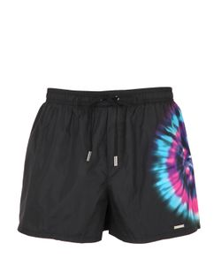 Dsquared2 | Tie Dyed Printed Nylon Swim Shorts