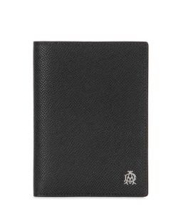 Dunhill | Embossed Leather Passport Holder