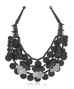 EK Thongprasert | Ethnic Moonless Night Silicone Necklace