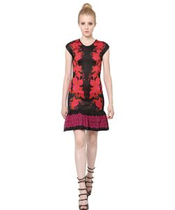 EKATERINA KUKHAREVA | Rose Patterned Jacquard Dress