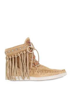 El Vaquero | 20mm Fringed Suede Ankle Boots
