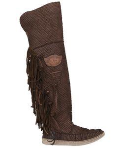 El Vaquero | 20mm Engraved Leather Boots