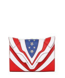 Elena Ghisellini | Felina Stars Stripes Leather Bag