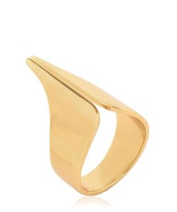 Ellen Conde | Set Of 4 Plated Rings