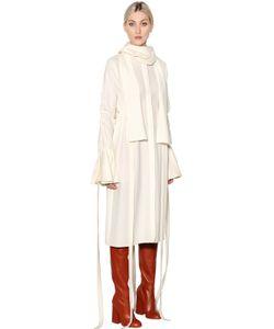Ellery | Smoked Stretch Cady Crepe Dress