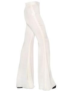 Ellery | Flared Gauze Trousers
