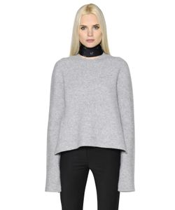 Ellery | Side Slits Boiled Wool Sweater